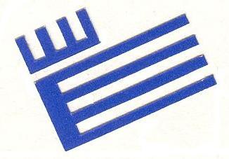 Logotipo azul Filosofía y Letras
